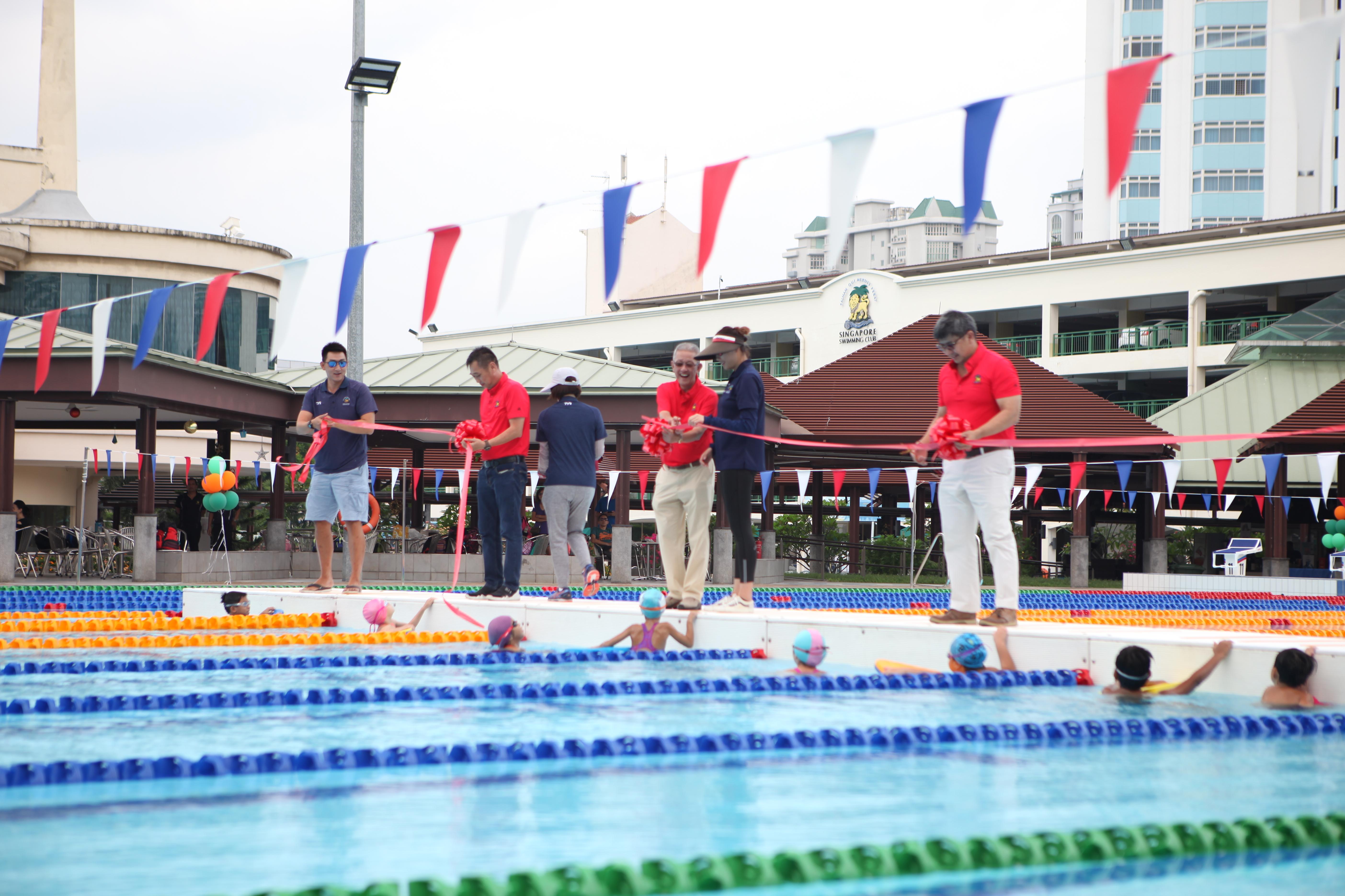 Club Milestones Singapore Swimming Club